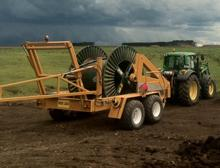 Cable trailers from 2 ton to 20 ton