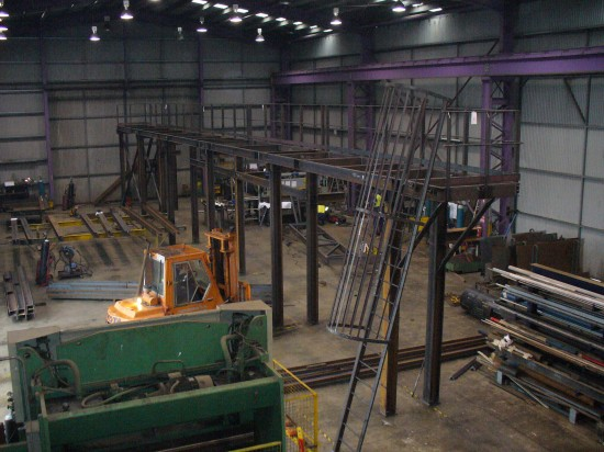 Pre assembly of fabrications - Pre Assembly of fabrication before surface treatment