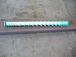 Self cleaning return rollers - Self Cleaning Roller 1200w