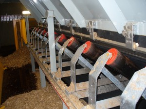 Hopper Fed Conveyor