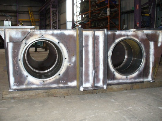 Line boring up to 2m - Fabricated & Line Bored x 4 Ends