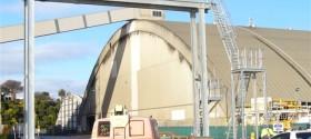 Hot Dip Galvanising Structure - port